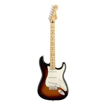 Fender Player Stratocaster Electric Guitar - Maple Neck - 3 Colour Sunburst - Front