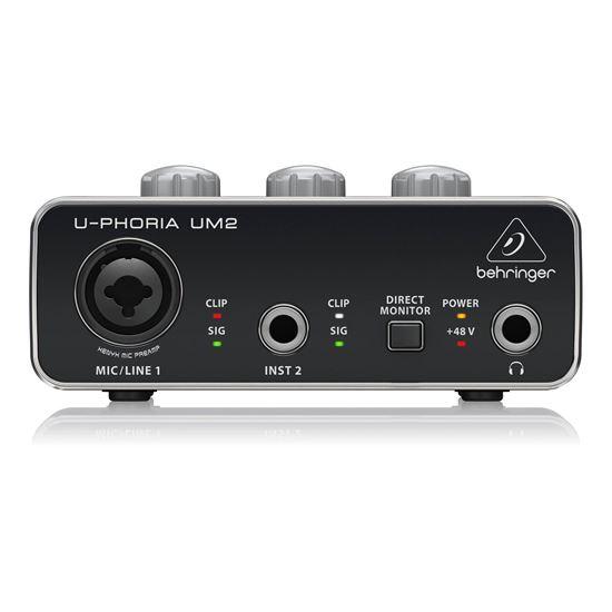 Behringer U-Phoria UM2 Interface - Front