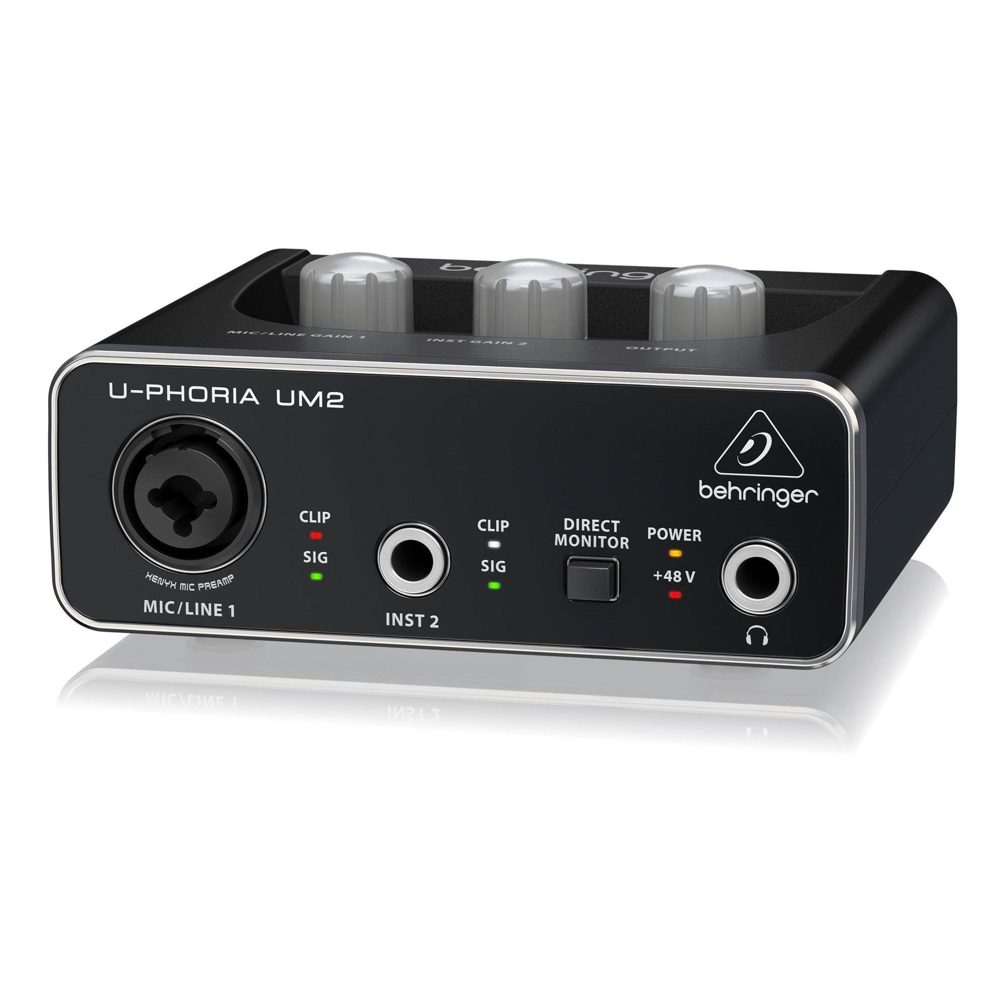 Behringer U-Phoria UM2 Interface - Right