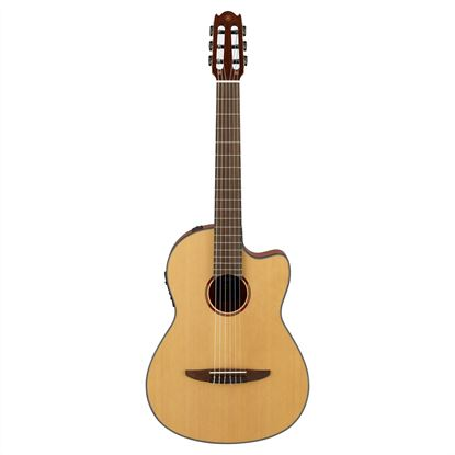 Yamaha NCX1 Acoustic-Electric Classical Guitar in Natural - Front