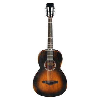 Ibanez AVN6 DTS Artwood Vintage Parlour Acoustic Guitar Distressed Tobacco Sunburst