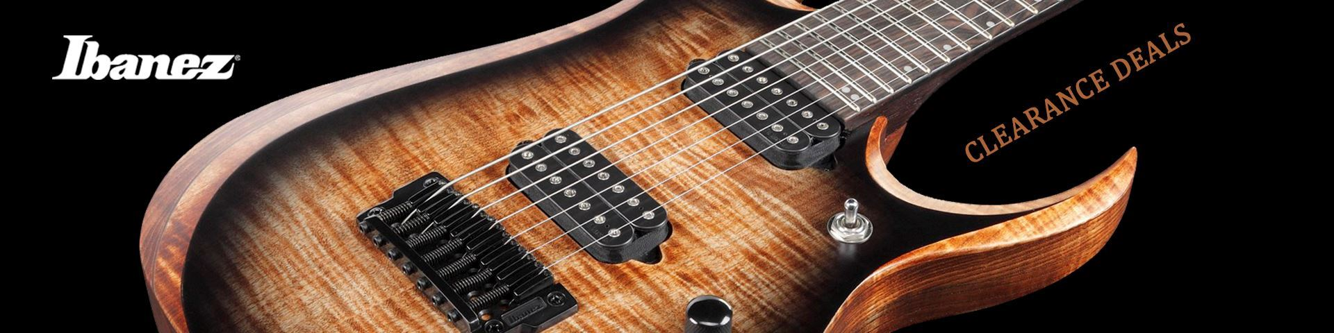 Ibanez Guitars - Clearance Specials