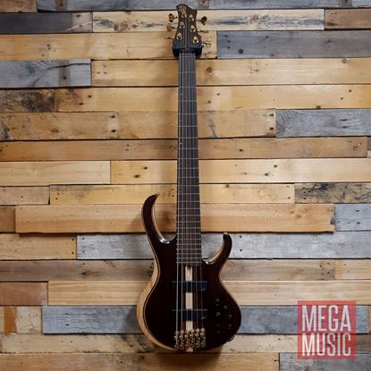 Ibanez BTB1806 NTL Bass Guitar (6-String) - Natural Low Gloss - Front