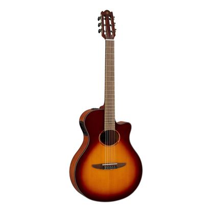 Yamaha NTX1 Acoustic-Electric Classical Guitar in Brown Sunburst
