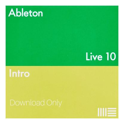Ableton Live 10 Intro Music Production Software DAW (ELicense Download Code Only)