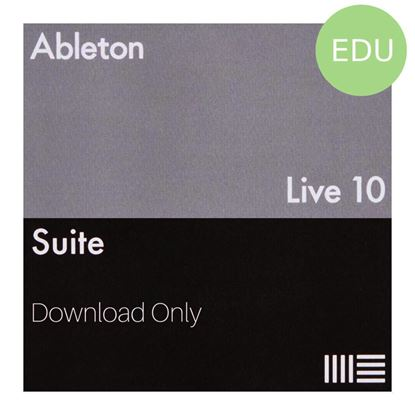Ableton Live 10 Suite Music Production Software DAW (ELicense Download Code Only) - Education