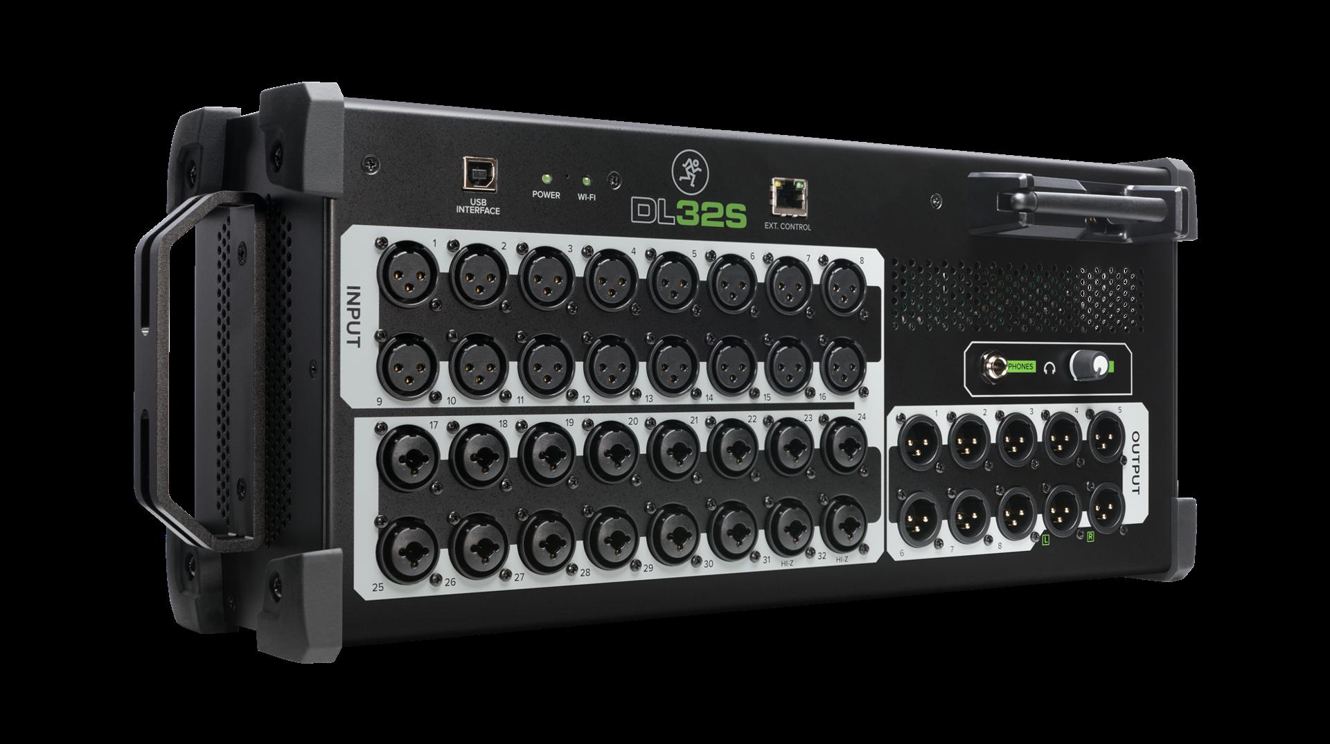 Mackie DL32s Digital Mixer - Left