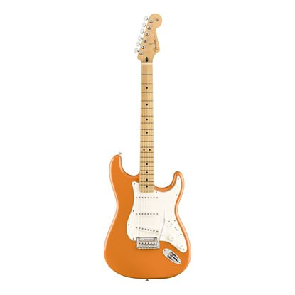 Fender Player Stratocaster Electric Guitar - MN - Capri Orange - Front