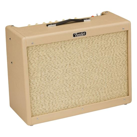 Fender Hot Rod Deluxe Limited Edition Guitar Combo Amplifier - Vanilla Cane - Angle