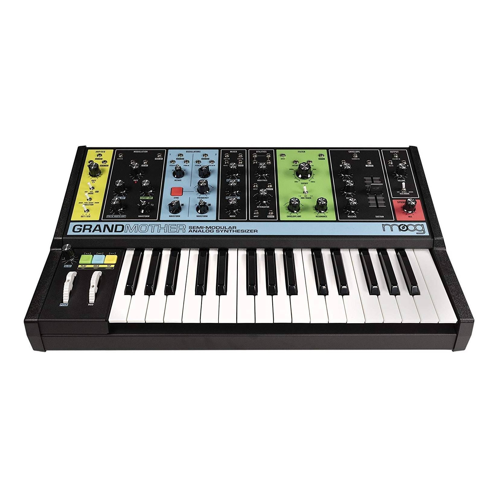 Moog Grandmother Semi-Modular Analogue Synthesizer - Front