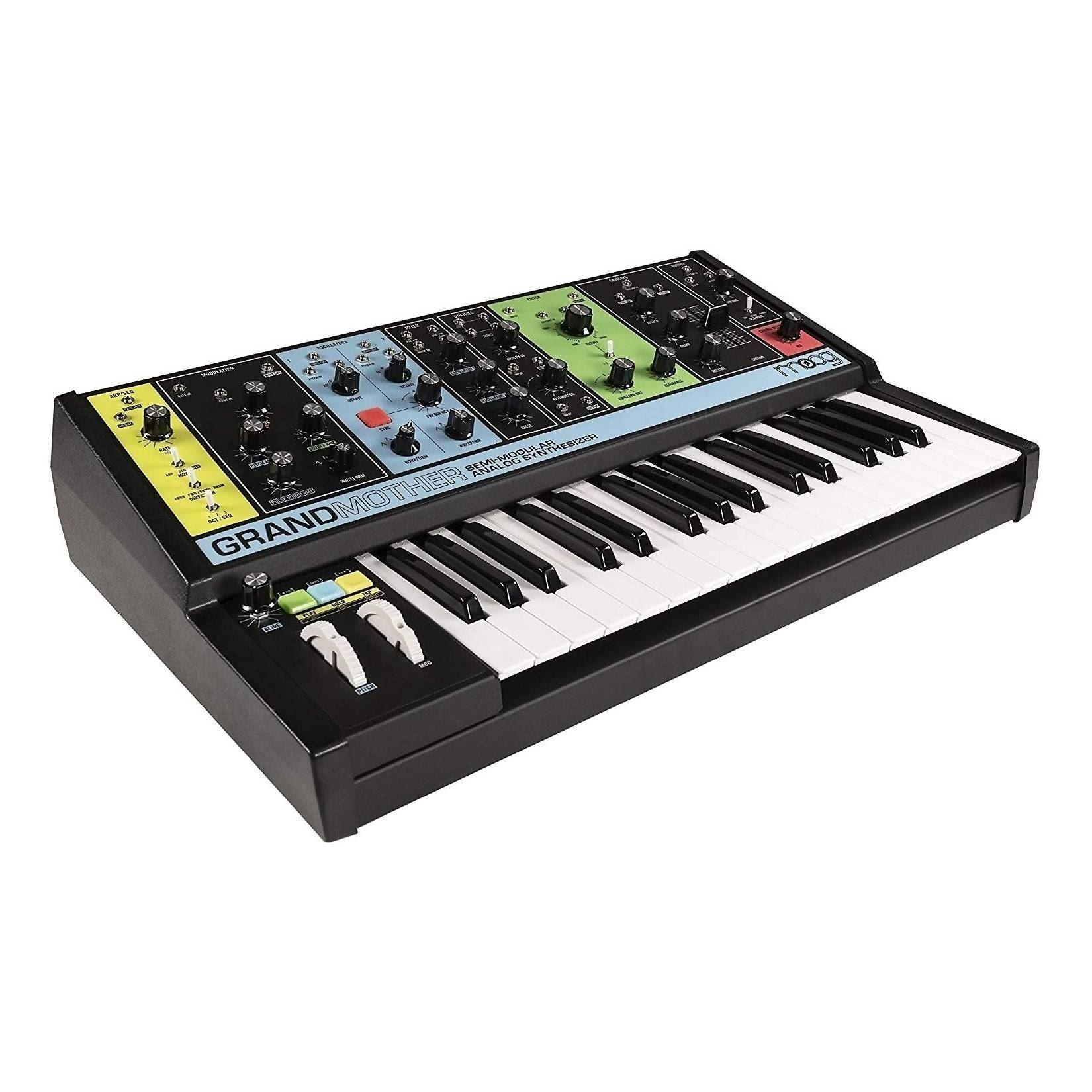 Moog Grandmother Semi-Modular Analogue Synthesizer - Angle
