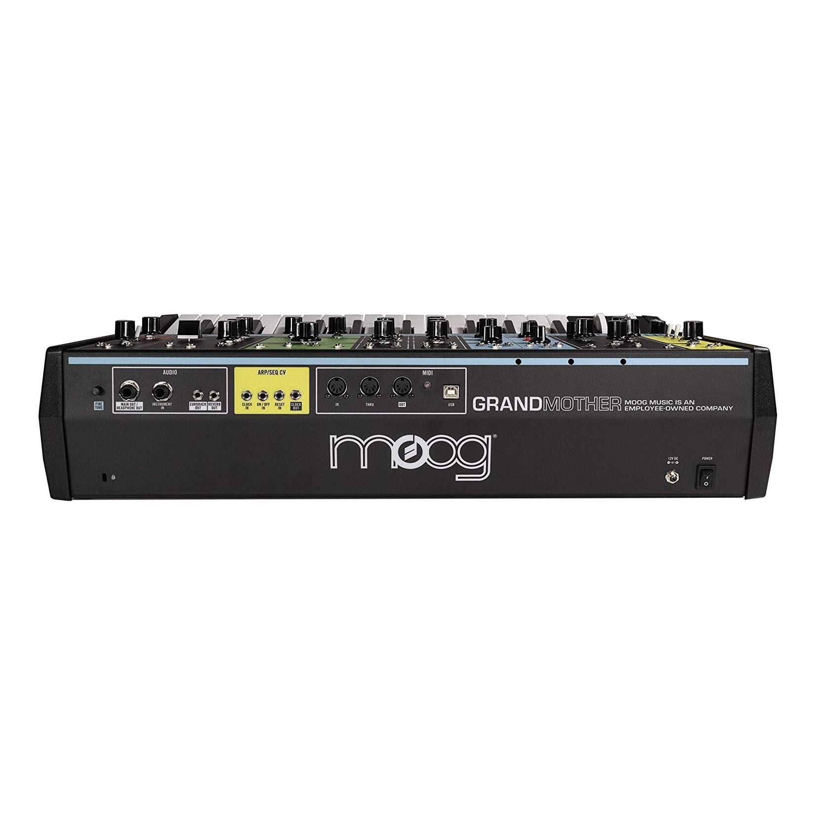 Moog Grandmother Semi-Modular Analogue Synthesizer - Back