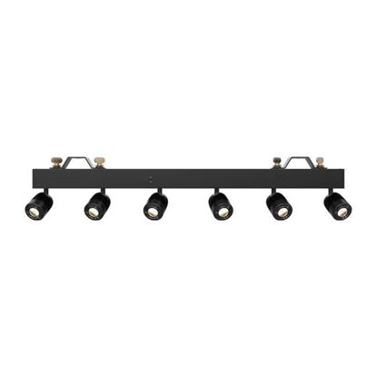 Chauvet Pin Spot Bar 6 x 15W LED Pinspot Bar with Adjustable Head - Front