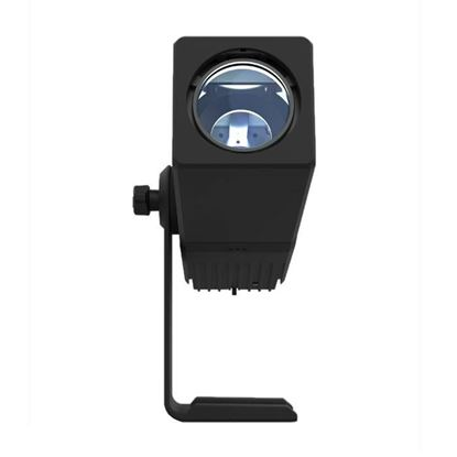 Chauvet Freedom Gobo IP 1x 16W LED Gobo Projector, Battery Operated, IP54 Rated - Front