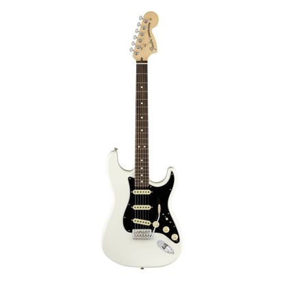 Fender American Performer Stratocaster Electric Guitar - RW - Arctic White - Front