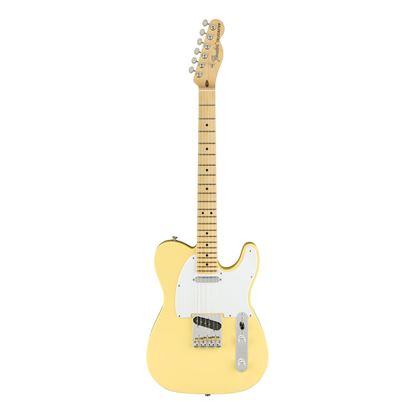 Fender American Performer Telecaster Electric Guitar - MN - Vintage White - Front