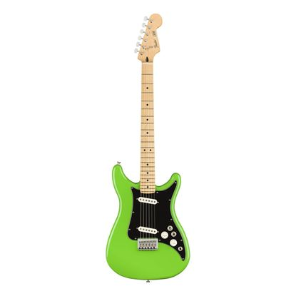 Fender Player Lead II Electric Guitar - MN - Neon Green - Front