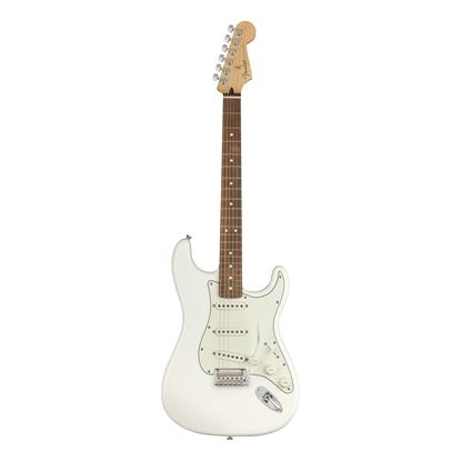 Fender Player Stratocaster Electric Guitar - PF - Polar White - Front