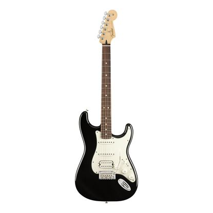 Fender Player Stratocaster HSS Electric Guitar - PF - Black - Front