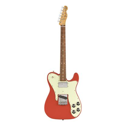 Fender Vintera 70s Telecaster Custom Electric Guitar - MN - Fiesta Red - Front