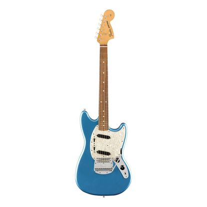 Fender Vintera 60s Mustang Electric Guitar - PF - Lake Placid Blue - Front
