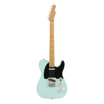 Fender Vintera 50s Telecaster Modified Electric Guitar  - MN - Daphne Blue - Front