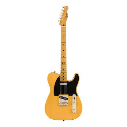 Squier Classic Vibe 50s Telecaster Electric Guitar - MN - Butterscotch Blonde - Front