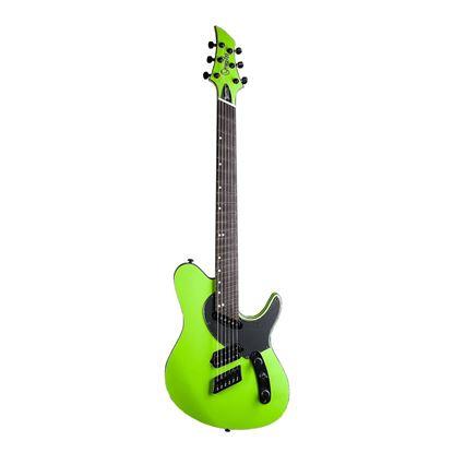 Ormsby Run 5 TX GTR Electric Guitar - Toxic Green - Front