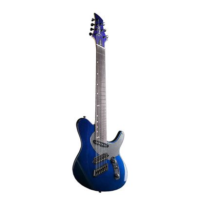 Ormsby Run 5 TX GTR 7 String Electric Guitar - Chameleon - Front