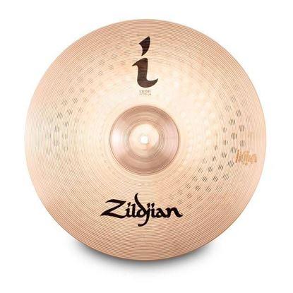"Zildjan 16"" I Series Crash Cymbal - Top"