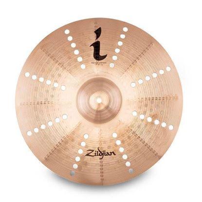 "Zildjan 17"" I Series Trash Crash Cymbal - Top"