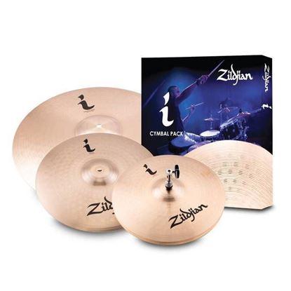 Zildjan I Series Essentials Plus Cymbal Pack (13/14/18)