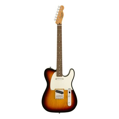 Squier Classic Vibe 60s Custom Telecaster Electric Guitar - LRL - 3-Colour Sunburst - Front