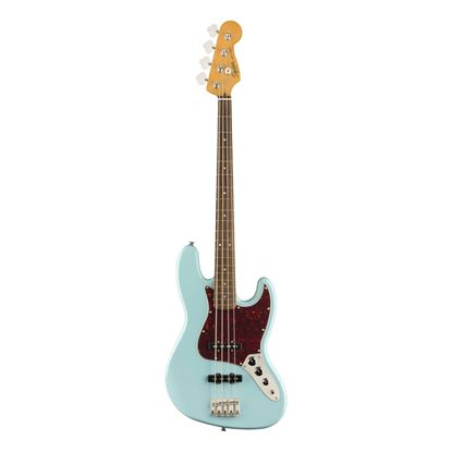 Squier Classic Vibe 60s Jazz Bass - LRL - Daphne Blue - Front