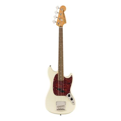 Squier Classic Vibe 60s Mustang Bass - LRL - Olympic White - Front