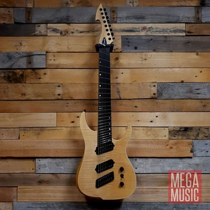 Ormsby Reissue Hype GTR 8 String Electric Guitar - Gloss Ash - Front