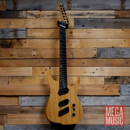 Ormsby Reissue Hype GTR 7 String Electric Guitar - Gloss Ash - Front