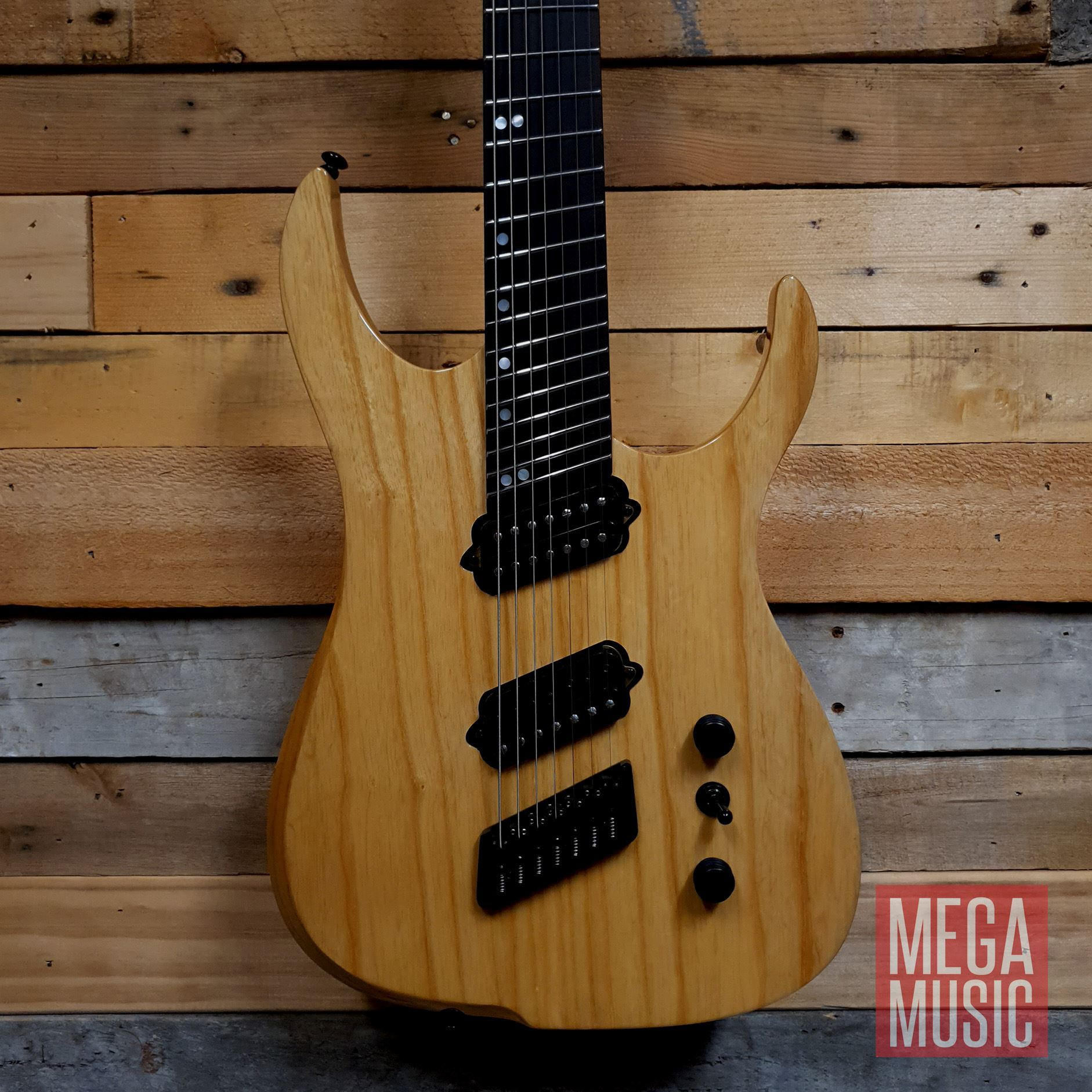 Ormsby Reissue Hype GTR 7 String Electric Guitar - Gloss Ash - Body