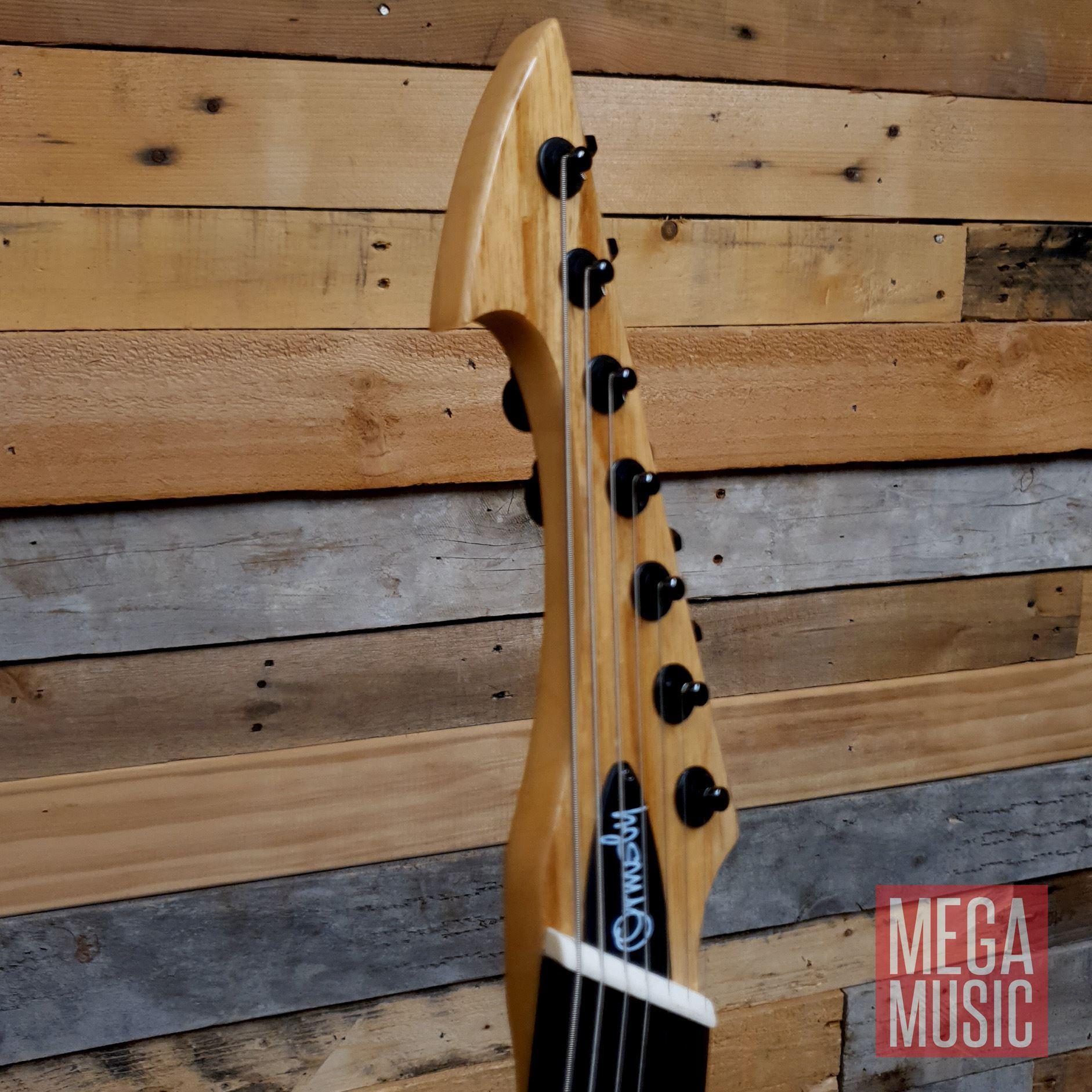 Ormsby Reissue Hype GTR 7 String Electric Guitar - Gloss Ash - Head