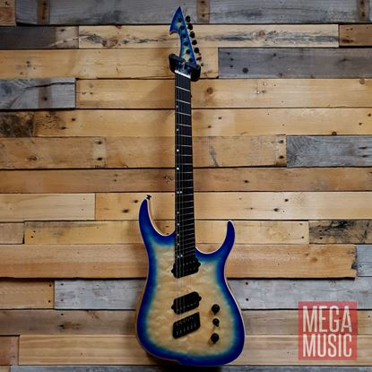 Ormsby Reissue Hype GTR Electric Guitar - Blue Burst - Front