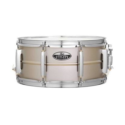 Pearl MUS1465S Modern Utility 14 x 6.5inch Snare Drum in Steel