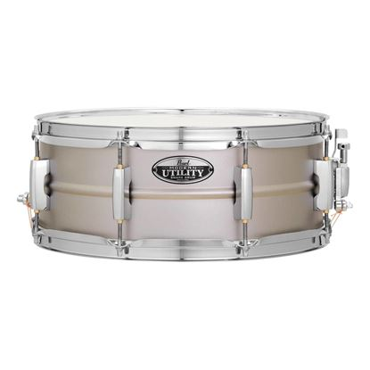 Pearl MUS1455S Modern Utility 14 x 5.5inch Snare Drum in Steel
