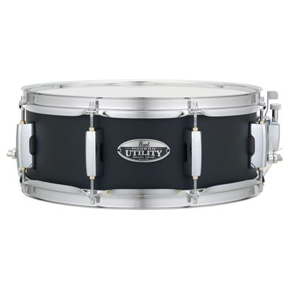 Pearl MUS1350M-234 Modern Utility 13 x 5inch Maple Snare Drum in Black Ice