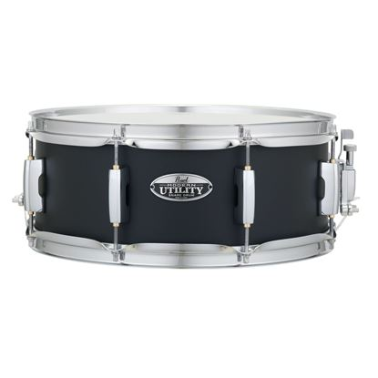 Pearl MUS1455M-234 Modern Utility 14 x 5.5inch Maple Snare Drum in Black Ice