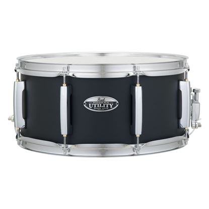 Pearl MUS1465M-234 Modern Utility 14 x 6.5inch Maple Snare Drum in Black Ice