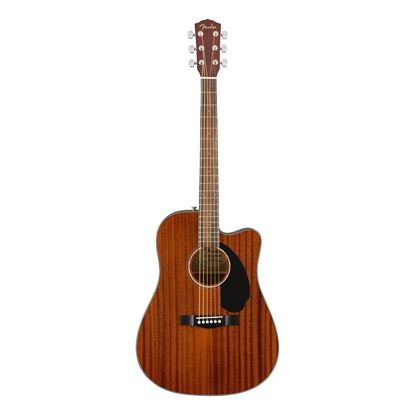 Fender CD-60SCE Dreadnought - WN - All Mahogany - Front
