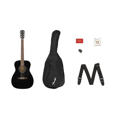 Fender CC-60S Concert Pack - Black - Front