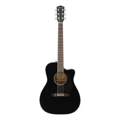 Fender CC-60SCE Concert - WN - Black - Front