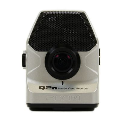 Zoom Q2n-HD Handy Video Recorder (Silver ) - Front