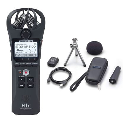 Zoom H1n Handy Recorder Bundle with APH-1n Accessory Pack